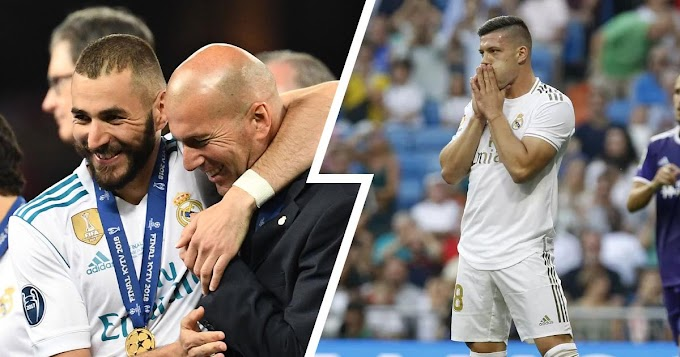 Zidane dependence on Benzema only for Real Madrid No.9 role despite having Jovic is bad for the club