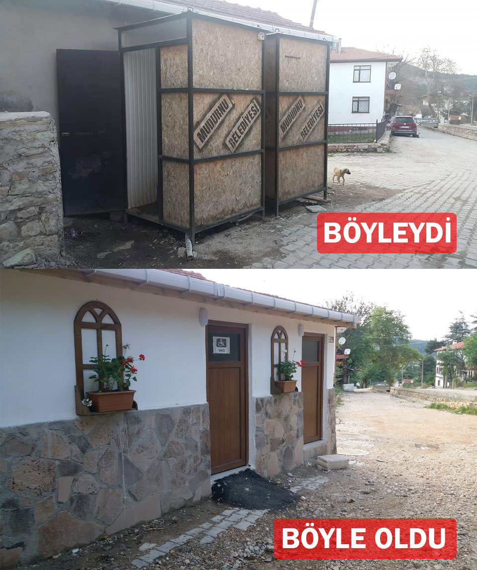 Mudurnu Ağaçlarbaşı Cami Tuvaletleri