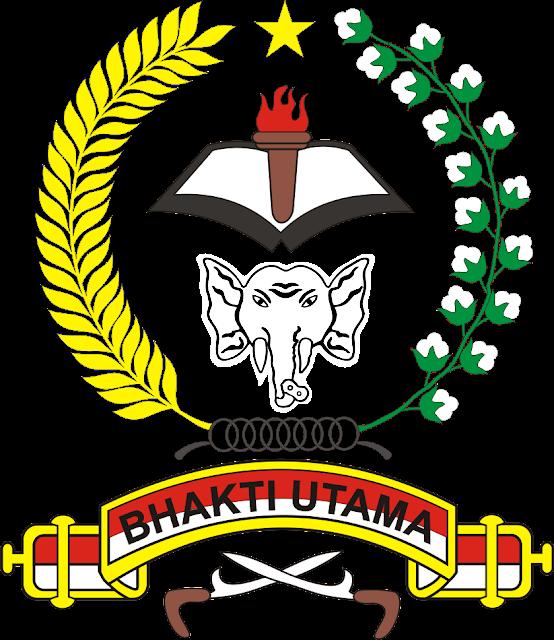 Logo RESIMEN INDUK KOMANDO DAERAH MILITER ( RINDAM ) 1 ISKANDAR MUDA