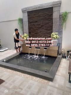 Tukang Kolam Ikan Koi di Jakarta timur, Jasa Pembuatan Kolam Minimalis, Kolam batu Kali Alami di Jakarta timur