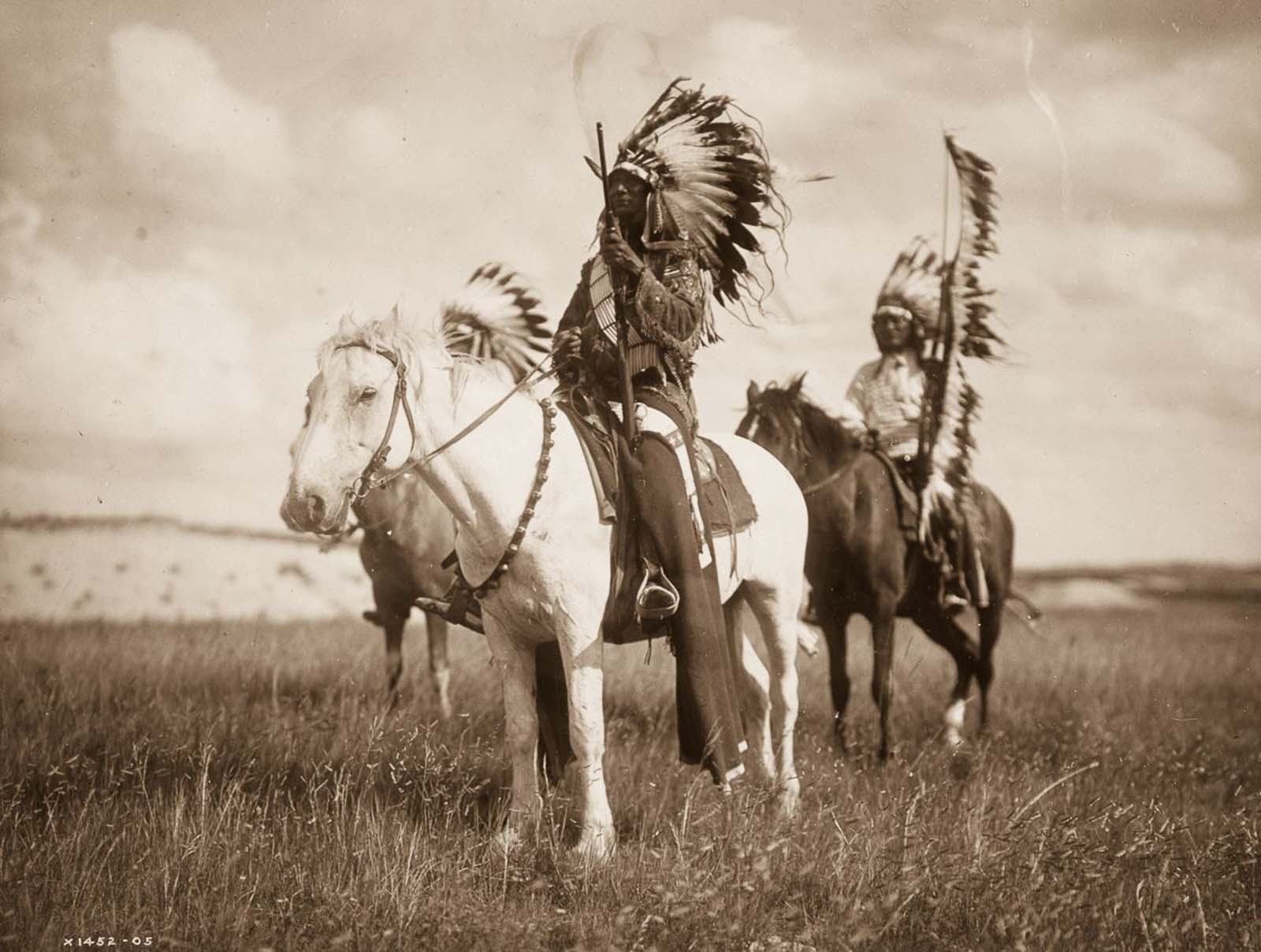 Sioux chiefs. 1905.