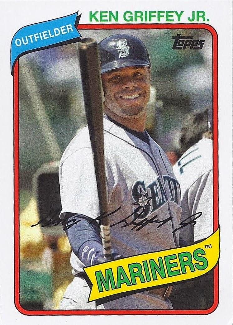 The Junior Junkie: the Baseball Cards of Ken Griffey, Jr