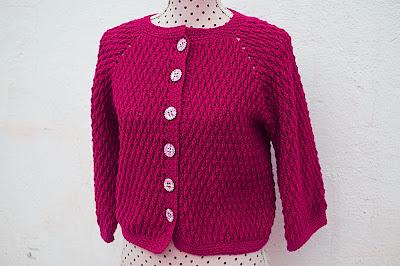 6 - Crochet imagen Chaqueta roja de mujer a crochet y ganchillo por Majovel Crochet