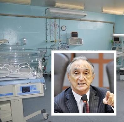 Getúlio Rêgo faz apelo para que Fátima Bezerra coloque UTI neonatal do Hospital Maria Alice Fernandes para funcionar