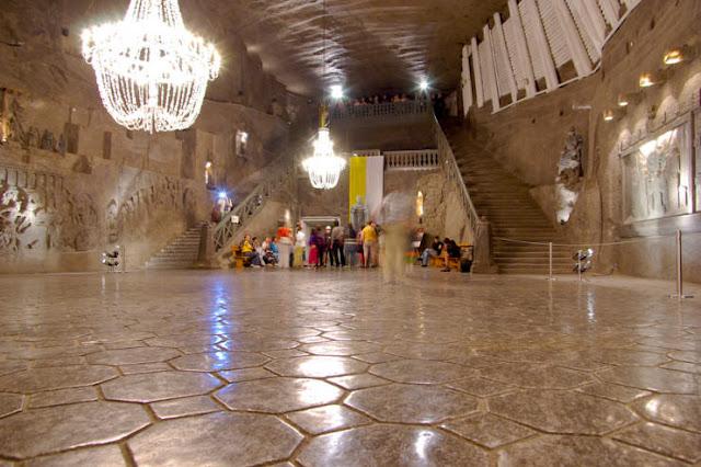 Wieliczka Salt Mine, Wieliczka, Polandia
