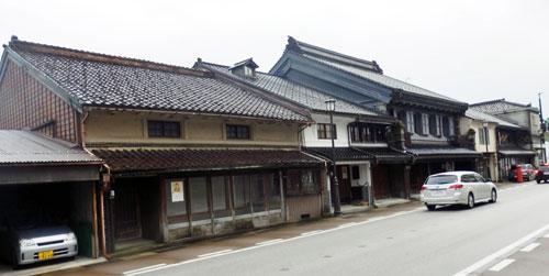 Yamachosuji Street Takaoka, Toyama Prefecture.