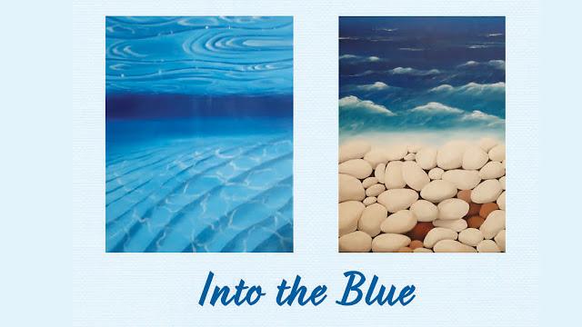 """Into the blue"": Έκθεση ζωγραφικής στο Πολιτιστικό Κέντρο Μίληση στο Πόρτο Χέλι"