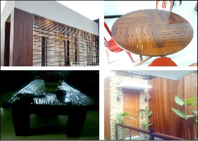 Furniture Rumah Dari Kayu Ulin