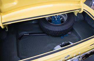 1969 Pontiac Firebird Sport Coupe Baggage
