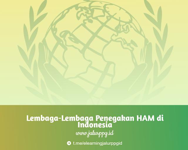 Lembaga-Lembaga Penegakan HAM di Indonesia