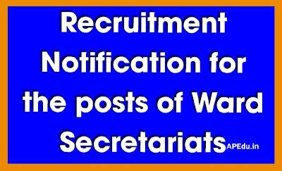 Ward Secretaries (Revised Tentative Vacancies) - 2020 Updated