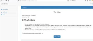 Aplikasi ujian online gratis CAT