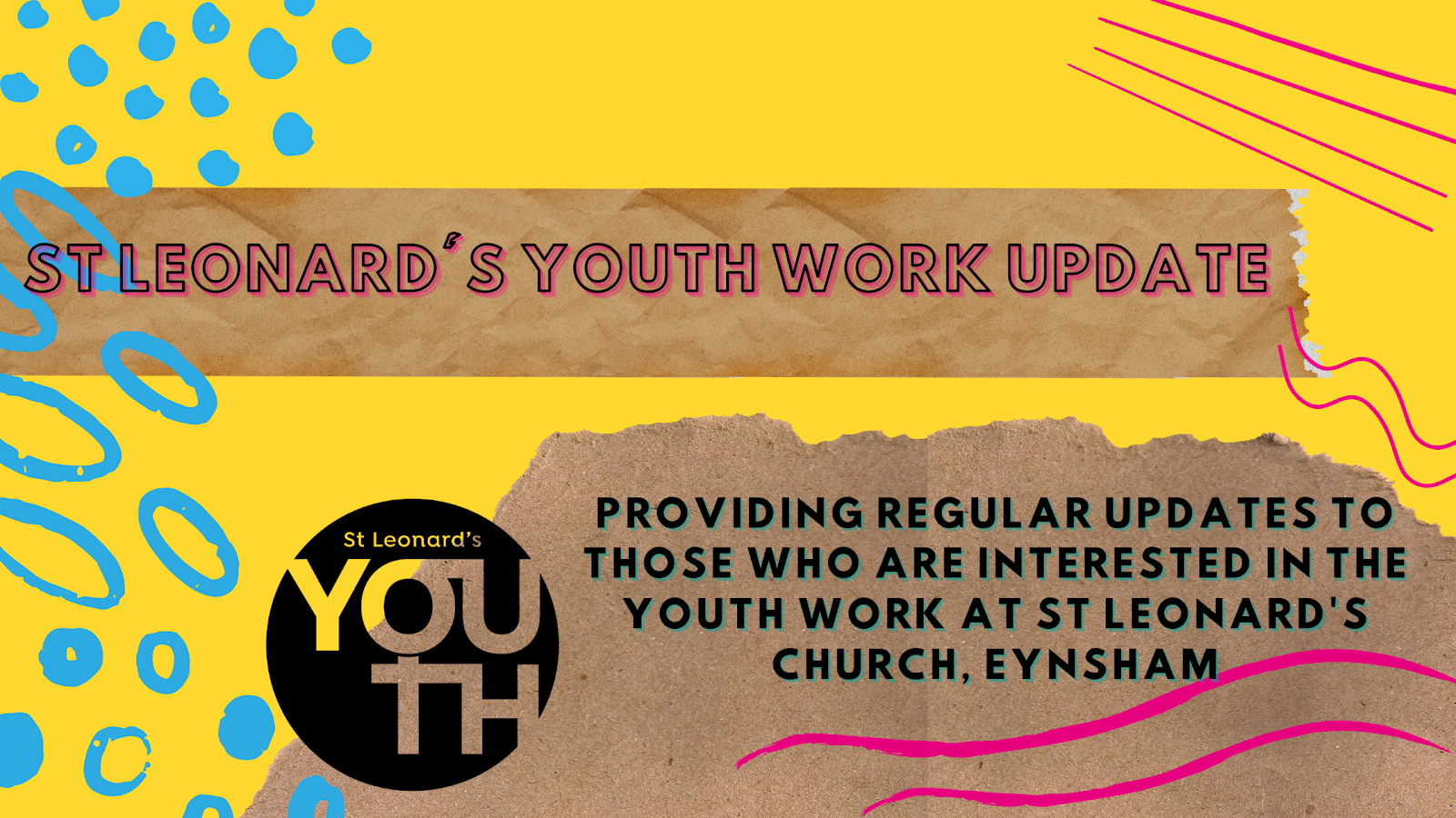 St. Leonard's Youth Work Update