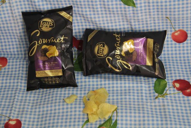 Lay's Gourmet Trufa Negra y Sal Marina