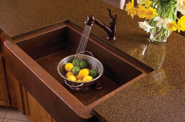 Copper Sink Design Ideas - Under Mounted