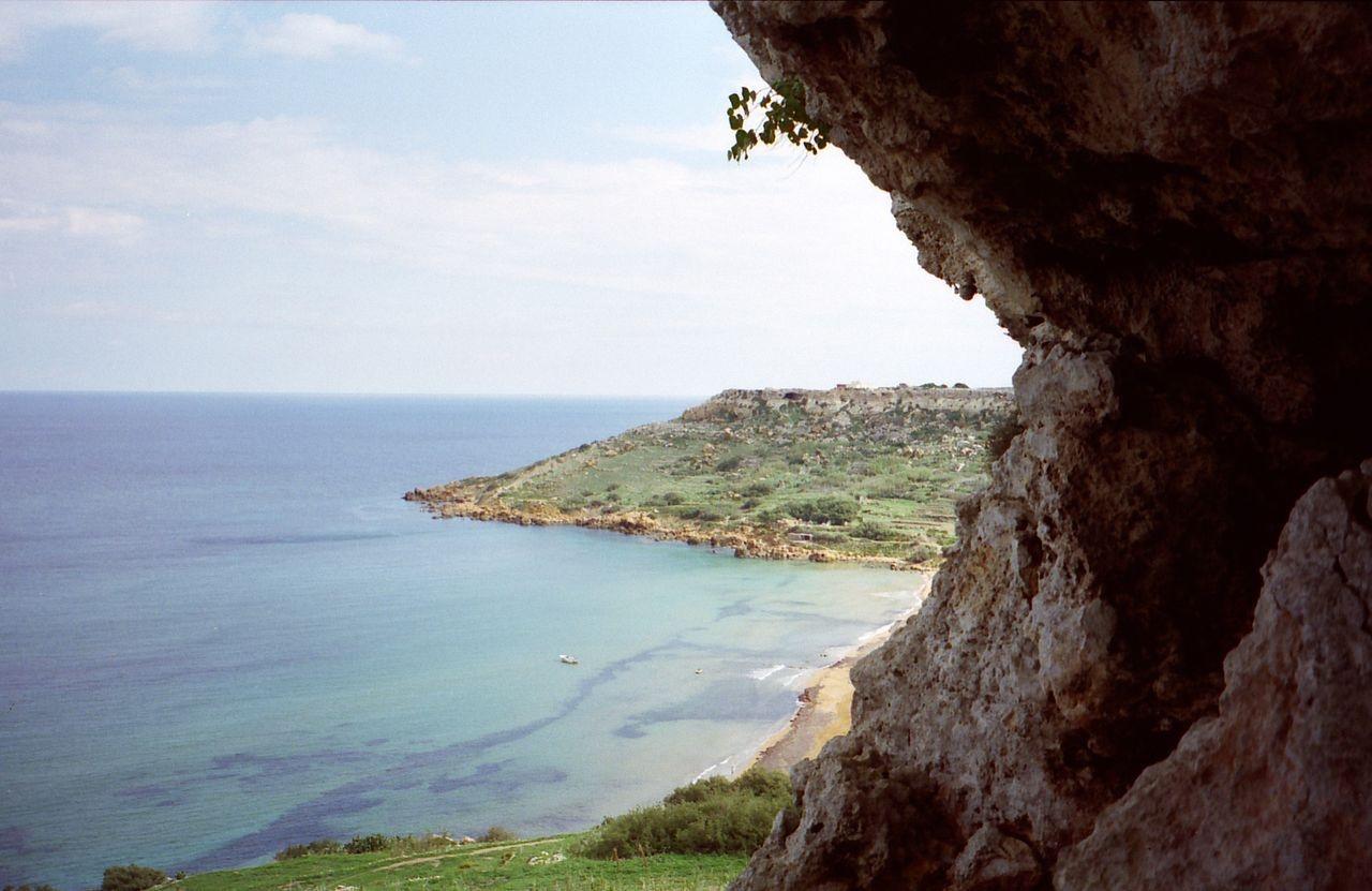 Ramla bay spiaggia Gozo Malta
