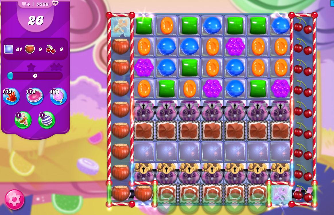 Candy Crush Saga level 5660