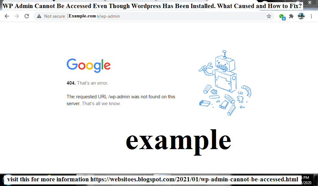 wp-admin-cannot-be-accessed-even-though-wordpress-has-been-installed