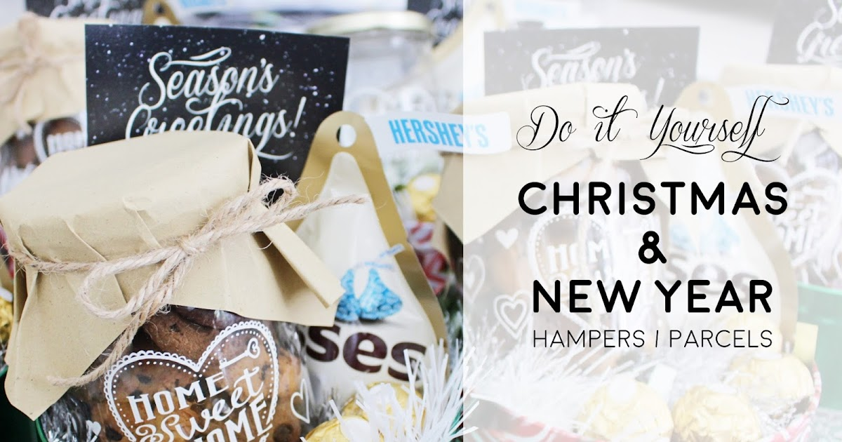 Nessiejudge diy christmas new year holiday hampers solutioingenieria Image collections