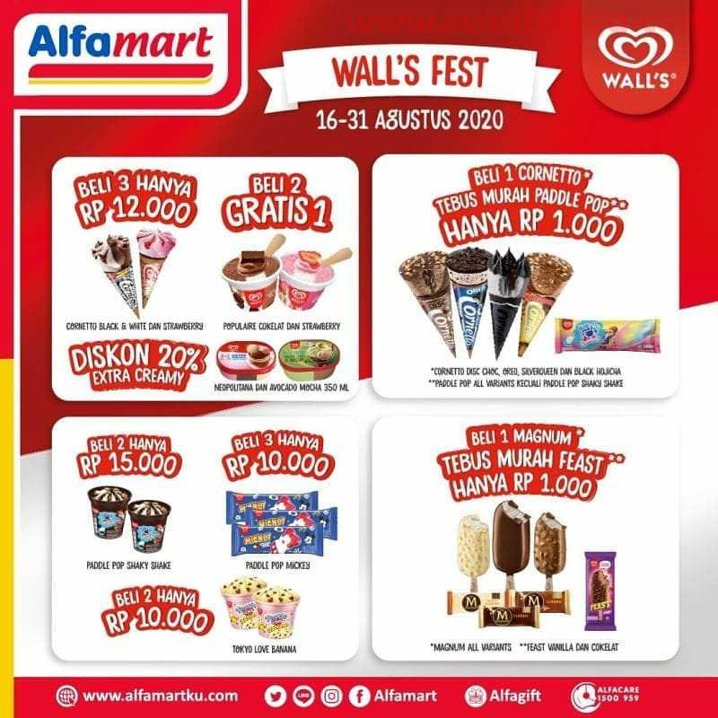 Alfamart Promo Wall S Fest Periode 16 31 Agustus 2020 Scanharga
