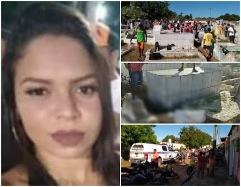 Jovem é assassinada a pauladas dentro de cemitério em São Mateus do Maranhão