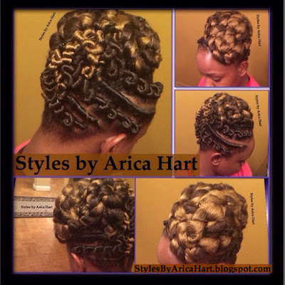 Stuffed twist, protective styles, hairstyles for black women