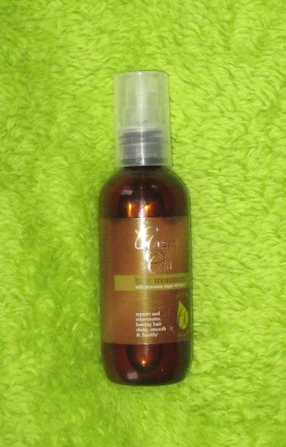 vlasový olejíček argan oil