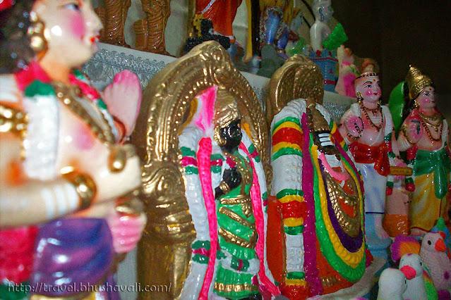Navarathri Golu - Annamalai & Unnamulai Ammai