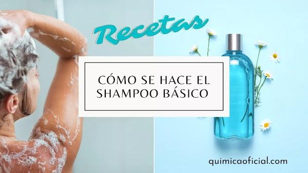 Shampoo Básico. Receta ecológica