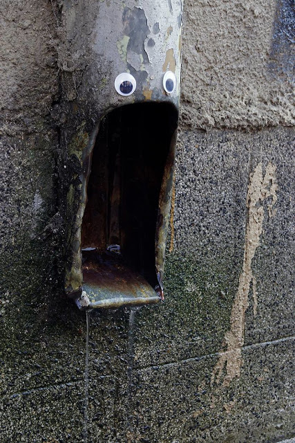 Eyebombing, stick googly eyes on things. Vanyu Krastev, a Bulgarians street artist  1