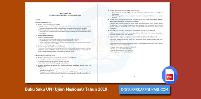 Arsip Buku Saku UN (Ujian Nasional) Tahun 2019