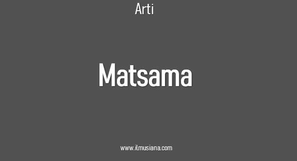 Arti Matsama
