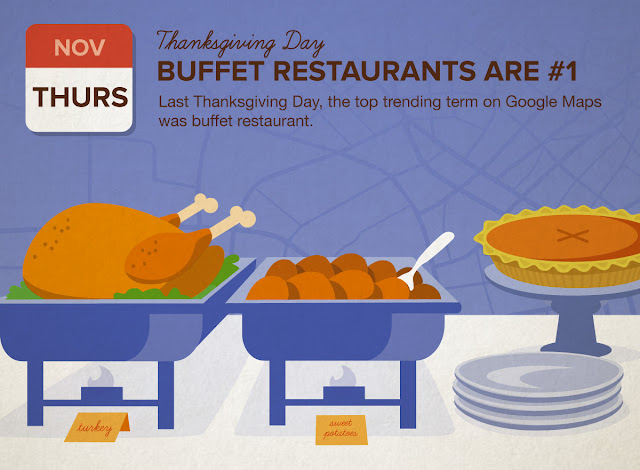Get ahead this Thanksgiving with Google Maps | googblogs com