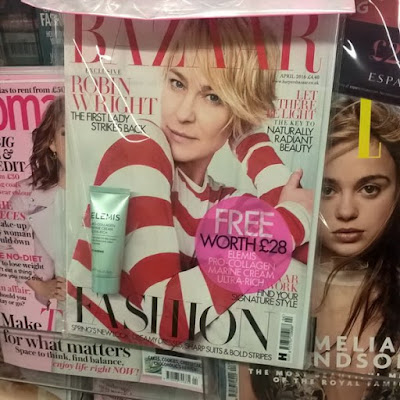 Bazaar Magazine Elemis Freebie March 2016