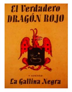 Libro en pdf Ocultista El Gran Grimorio o Dragon Rojo