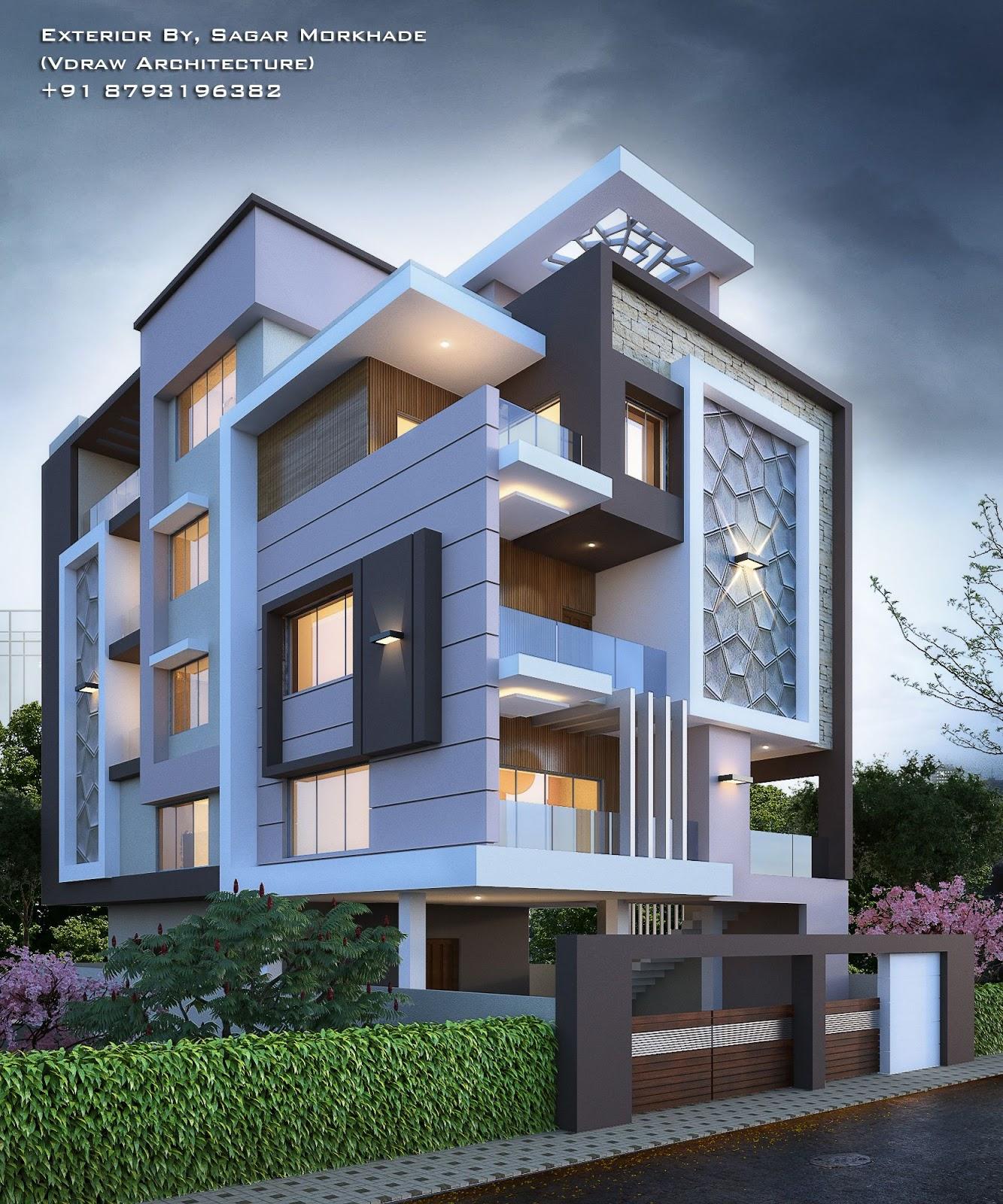 Modern Villa Exterior Designs   Engineering Discoveries