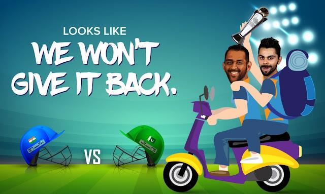 India vs Pakistan, Champions Trophy 2017 Final