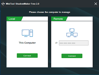 MiniTool ShadowMaker - The Free and Professional Backup Software