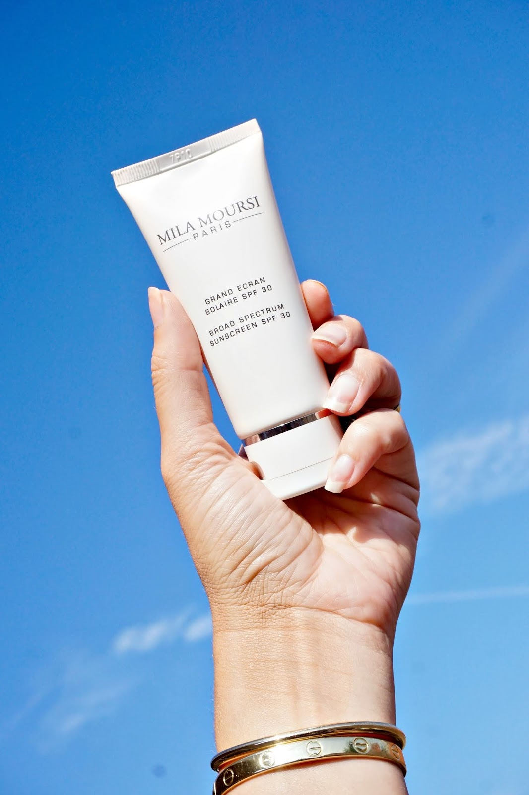 Mila Moursi sunscreen review