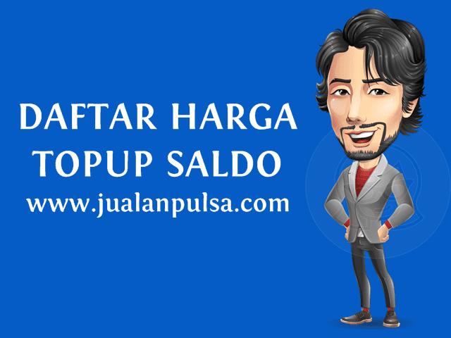 Cara Top Up Isi Saldo Uang Elektronik Murah JualanPulsa.com