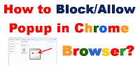how to allow pop ups in chrome browser,