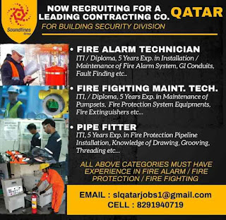Building Security Division Vacancies Gulf ITI , Diploma Require