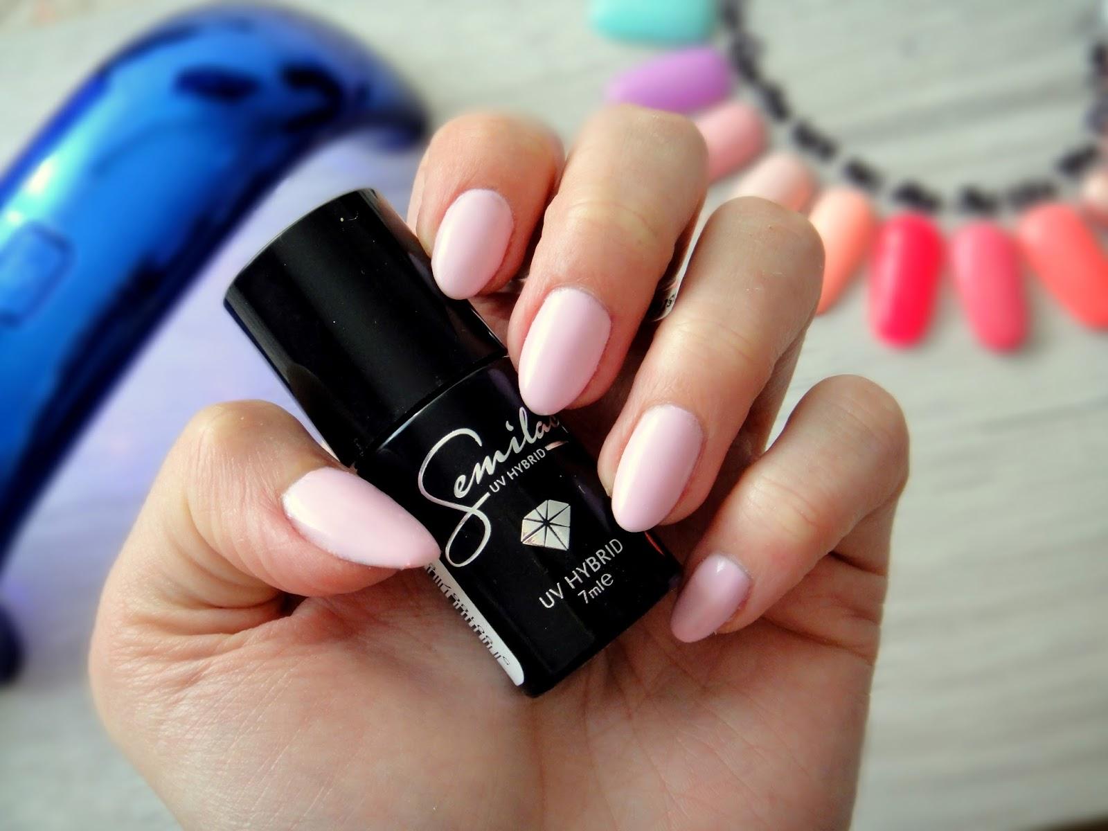 Lakiery Hybrydowe Semilac Pink Smile 056 Anek Beauty Make Up