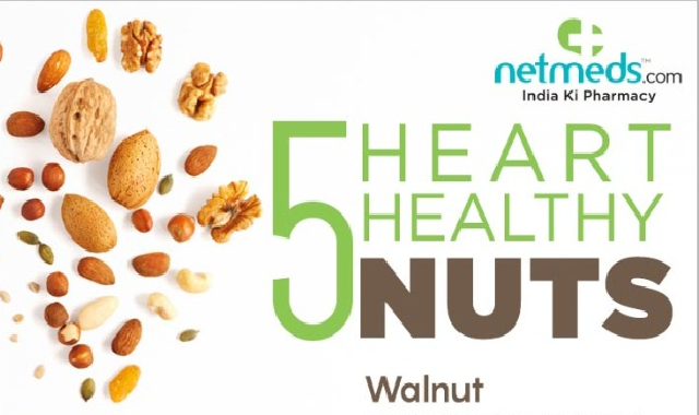 5 Incredible Nuts To Boost Your Heart Health #infographic
