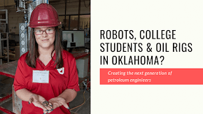 Robots and college students spur oil and gas robotic rigs