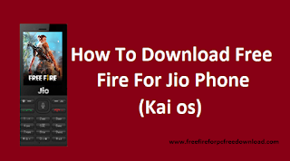 free fire for Jio Phone