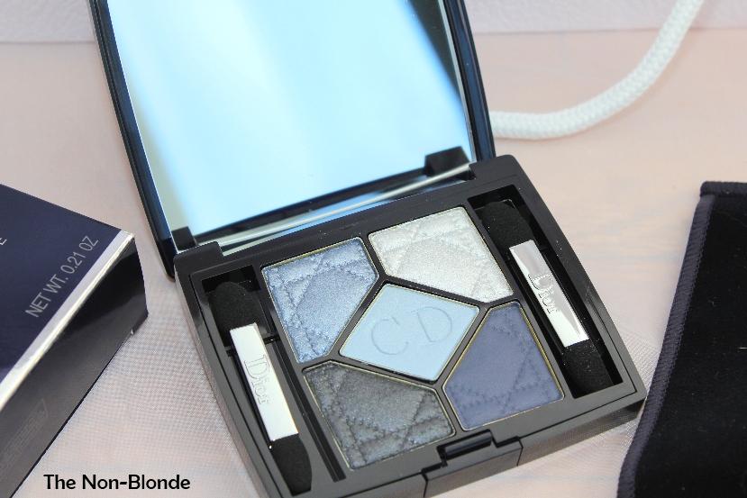dior bleu de paris 5 couleurs new look eyeshadow palette the non blonde. Black Bedroom Furniture Sets. Home Design Ideas