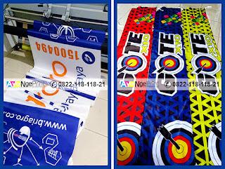 Cetak umbul-umbul kain Print Digital di Taman Sari, Jakarta Barat