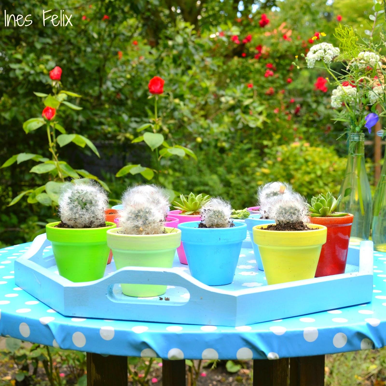 ines felix kreatives zum nachmachen mini gl cks kaktus. Black Bedroom Furniture Sets. Home Design Ideas