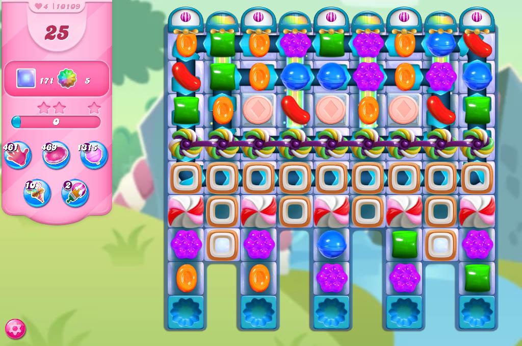 Candy Crush Saga level 10109